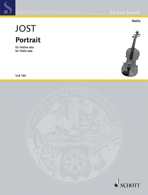 Portrait-for-Violin-solo-Jost-Christian-violin-solo-9790001196673
